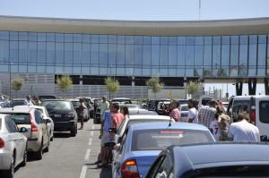 Gibraltar Border Queue