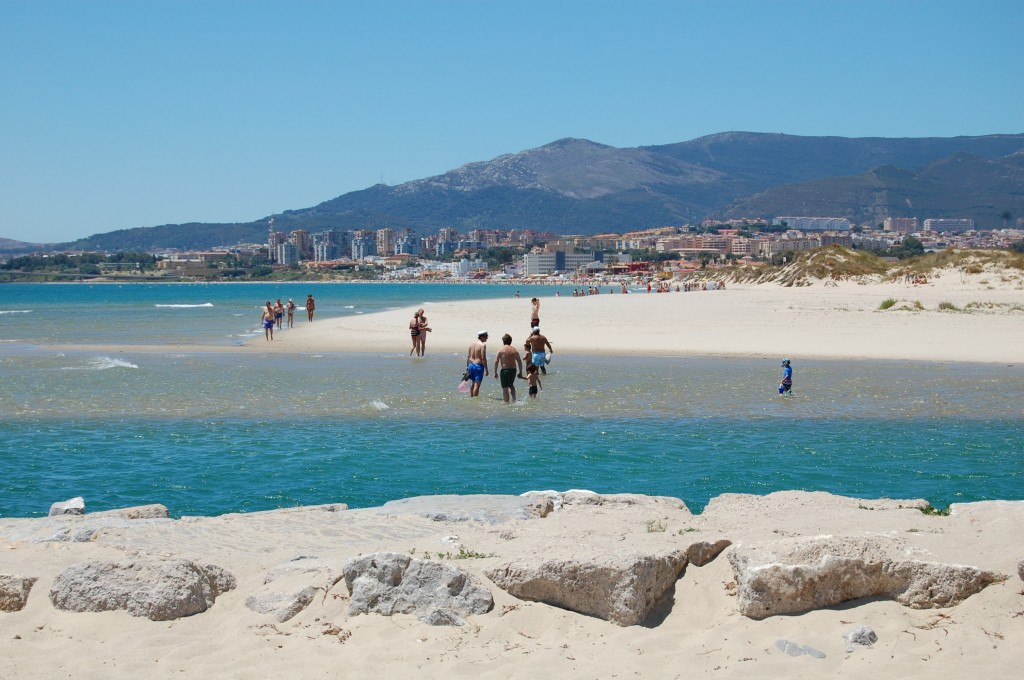 Palmones beach