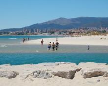 Los Palmones beach